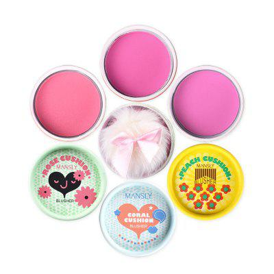 MANSLY M712 Long-lasting 3 Colors Mini Blush Easy to Wear BlusherFace Makeup<br>MANSLY M712 Long-lasting 3 Colors Mini Blush Easy to Wear Blusher<br><br>Feature: Natural<br>Formulation: Pressed Powder<br>Ingredient: Talcum powder, Mica powder, Starch octenyl suxiate<br>Item Type: Blush<br>Net Weight: 7.5g<br>Package Content: 1 x Blush<br>Package size (L x W x H): 11.00 x 13.00 x 4.00 cm / 4.33 x 5.12 x 1.57 inches<br>Package weight: 0.0228 kg<br>Product size (L x W x H): 5.00 x 5.00 x 3.40 cm / 1.97 x 1.97 x 1.34 inches<br>Product weight: 0.0168 kg<br>Size: Full Size<br>Skin type: All Skin Types<br>Sunblock: No