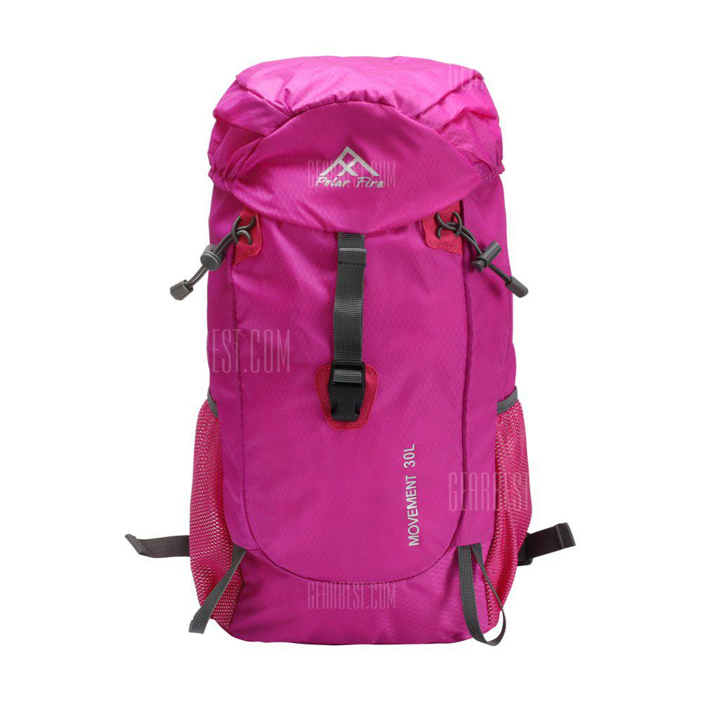 PolarFire Water Resistant Lightweight Nylon Bag Outdoor Travel Climbing Backpack