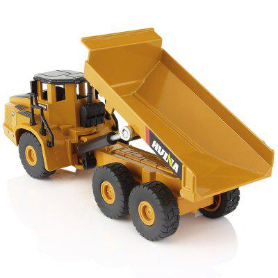 1:50 Scales Alloy Excavator Dumper Engineering Metal Diecast Car