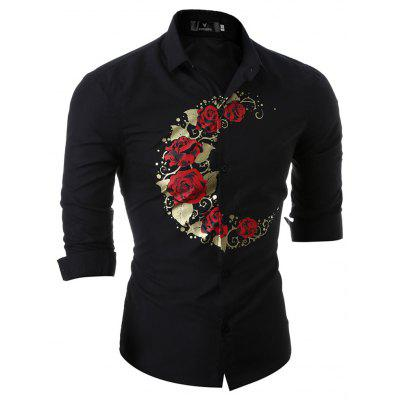 New Style and New Mans Palm Print ShirtMens Shirts<br>New Style and New Mans Palm Print Shirt<br><br>Collar: Turn-down Collar<br>Material: Cotton Blends<br>Package Contents: 1X Shirt<br>Shirts Type: Casual Shirts<br>Sleeve Length: Full<br>Weight: 0.2300kg