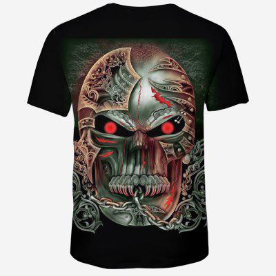Summer New 3D Skull Print Mens Short Sleeve T-shirtMens Short Sleeve Tees<br>Summer New 3D Skull Print Mens Short Sleeve T-shirt<br><br>Collar: Round Neck<br>Material: Polyester, Spandex<br>Package Contents: 1XT-shirt<br>Pattern Type: Skulls<br>Sleeve Length: Short Sleeves<br>Style: Fashion<br>Weight: 0.1600kg