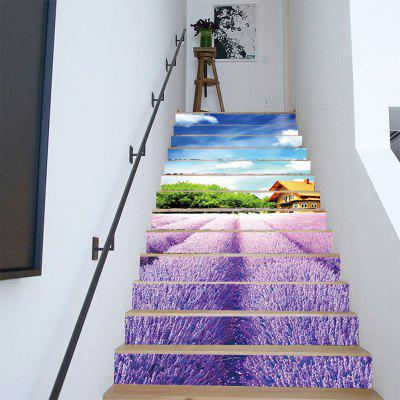 13 Pieces/Set Lavender Flowers Stairs Stickers 3D House Tree Landscape StairwayWall Stickers<br>13 Pieces/Set Lavender Flowers Stairs Stickers 3D House Tree Landscape Stairway<br><br>Art Style: Plane Wall Stickers, Toilet Stickers<br>Color Scheme: Multicolor<br>Function: Decorative Wall Sticker, 3D Effect<br>Layout Size (L x W): 18 x 100 x 13 cm<br>Material: Paper, Vinyl(PVC)<br>Package Contents: 13 x Stairs sticker<br>Package size (L x W x H): 20.00 x 7.50 x 7.50 cm / 7.87 x 2.95 x 2.95 inches<br>Package weight: 0.7500 kg<br>Product weight: 0.6500 kg<br>Quantity: 1 Set<br>Sizes: Others<br>Subjects: Holiday,Cute,Flower,Landscape,Architecture,3D<br>Suitable Space: Living Room,Hotel,Corridor,Hallway,Kids Room,Study Room / Office,Girls Room<br>Type: 3D Wall Sticker, Plane Wall Sticker