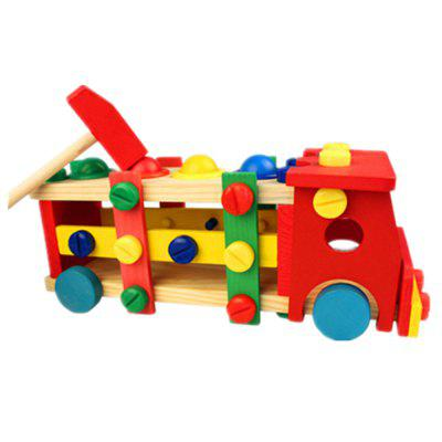 Child Puzzle Toy Nut Pull CartBlock Toys<br>Child Puzzle Toy Nut Pull Cart<br><br>Gender: Unisex<br>Materials: Wood<br>Package Contents: 1 x Nut Toy<br>Package size: 32.00 x 12.50 x 14.00 cm / 12.6 x 4.92 x 5.51 inches<br>Package weight: 1.1000 kg<br>Product size: 29.50 x 11.50 x 12.50 cm / 11.61 x 4.53 x 4.92 inches<br>Product weight: 1.0000 kg<br>Suitable Age: Kid<br>Theme: Vehicle<br>Type: Kids Building
