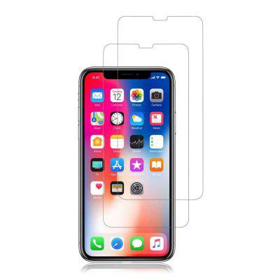 2x Plastic / Tempered Glass Screen Protector For iPhone X