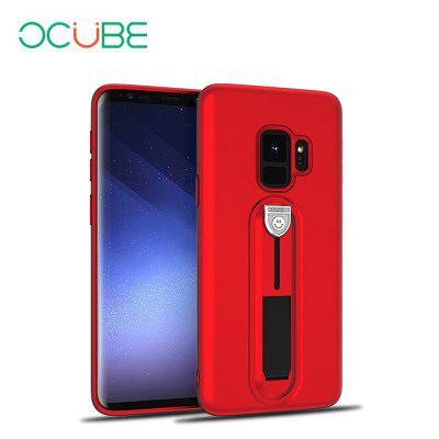 OCUBE Kickstand Protective Cover Stand Case for Samsung Galaxy S9 ocube matte protective case with ring for ulefone tiger black