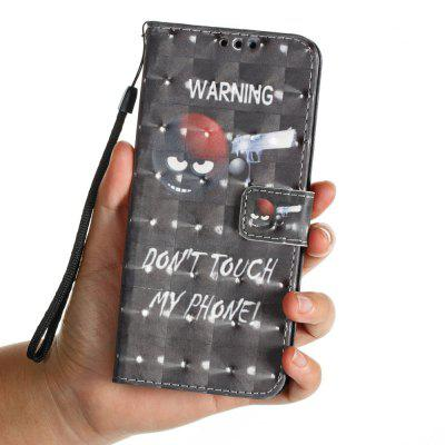 3D PU Leather Wallet Case for Samsung Galaxy S9 Plus Sharpshooter Pattern