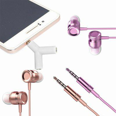 3.5mm Y Shape Stereo Jack Audio Headset Connector Adapter Keyring Splitter for iPhone 6 5 Android PC MP3 original bingle b616 multifunction stereo wireless headset headphones with microphone fm radio for mp3 pc tv audio phones