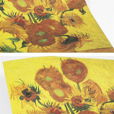Vintage Poster Van Gogh Painting Sunflower Wall StickerWall Stickers<br>Vintage Poster Van Gogh Painting Sunflower Wall Sticker<br><br>Function: Decorative Wall Sticker<br>Material: Paper<br>Package Contents: 1 x Wall Sticker<br>Package size (L x W x H): 52.00 x 36.00 x 5.00 cm / 20.47 x 14.17 x 1.97 inches<br>Package weight: 0.1800 kg<br>Product size (L x W x H): 51.00 x 35.50 x 0.20 cm / 20.08 x 13.98 x 0.08 inches<br>Product weight: 0.1500 kg<br>Quantity: 1<br>Subjects: Vintage<br>Suitable Space: Living Room,Bedroom,Dining Room,Hotel,Cafes<br>Type: Plane Wall Sticker