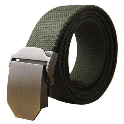 Hot Male Tactical Belt Top Quality Casual Canvas Outdoor Automatic Buckle