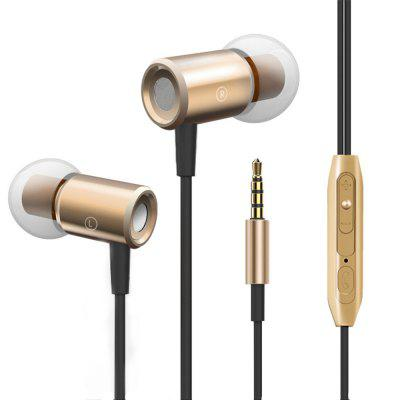 Magnetic Wired Stereo Noise Cancelling Earphone with Mic Volume