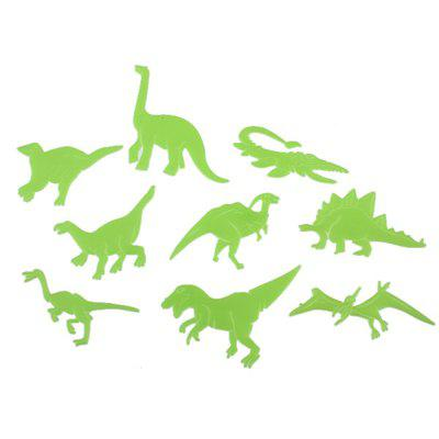 Buy Dinosaur Stickers PVC Fluorescent Wall Home Decoration 9PCS, BEIGE, Home & Garden, Home Decors, Wall Art, Wall Stickers for $1.93 in GearBest store