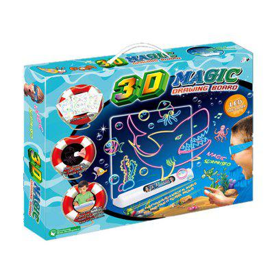 3D Magic Drawing Board Flash Creative Kids Toy Dinosaur World Cup GameLogic &amp; Puzzle Toys<br>3D Magic Drawing Board Flash Creative Kids Toy Dinosaur World Cup Game<br><br>Gender: Unisex<br>Materials: Plastic<br>Package Contents: 1 X Drawing Board, 1 X 3D Glass, 1 X Wrap Cloth, 4 X Drawing Pens, 3 X Copy Pictures<br>Package size: 38.00 x 30.00 x 5.00 cm / 14.96 x 11.81 x 1.97 inches<br>Package weight: 1.0000 kg<br>Product size: 38.00 x 30.00 x 5.00 cm / 14.96 x 11.81 x 1.97 inches<br>Product weight: 1.0000 kg<br>Stem From: Other<br>Style: Geometric Shape, Landscape, Cartoon, Animal<br>Theme: Animals,Sports,Fantasy and Sci-fi<br>Type: Painting Set, Magnetic, Jigsaw Puzzle, Personalized Jigsaw, Noctilucent, 3D Puzzle