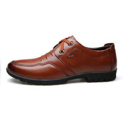 Male Cowhide Comfort Lace Up Soft Driving Leather Mens Causal ShoesMen's Oxford<br>Male Cowhide Comfort Lace Up Soft Driving Leather Mens Causal Shoes<br><br>Available Size: 38 39 40 41 42 43 44<br>Closure Type: Lace-Up<br>Embellishment: None<br>Gender: For Men<br>Outsole Material: Rubber<br>Package Contents: 1 x Shoes(pair)<br>Pattern Type: Solid<br>Season: Summer, Winter, Spring/Fall<br>Toe Shape: Round Toe<br>Toe Style: Closed Toe<br>Upper Material: Full Grain Leather<br>Weight: 1.4784kg