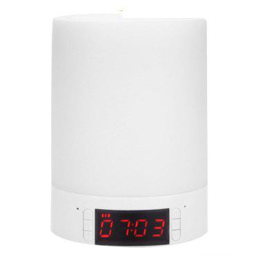 YouOKLight YK2307 Portable Wireless Bluetooth Mini Clock Alarm USB Charging Lamp