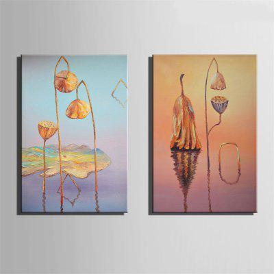 Special Design Frameless Paintings Lotus Leaf Withered Print 2PCSPrints<br>Special Design Frameless Paintings Lotus Leaf Withered Print 2PCS<br><br>Craft: Oil Painting<br>Form: Two Panels<br>Material: Canvas<br>Package Contents: 2 x Print<br>Package size (L x W x H): 42.00 x 31.00 x 3.50 cm / 16.54 x 12.2 x 1.38 inches<br>Package weight: 0.9000 kg<br>Painting: Without Inner Frame<br>Product size (L x W x H): 40.00 x 28.00 x 1.50 cm / 15.75 x 11.02 x 0.59 inches<br>Product weight: 0.8000 kg<br>Shape: Vertical Panoramic<br>Style: Vintage, Fashion, Active, Formal, Casual, Novelty<br>Subjects: Fashion<br>Suitable Space: Indoor,Outdoor,Cafes,Kids Room,Kids Room,Study Room / Office