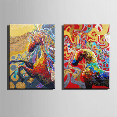 Special Design Frameless Paintings Running Print 2PCSPrints<br>Special Design Frameless Paintings Running Print 2PCS<br><br>Craft: Oil Painting<br>Form: Two Panels<br>Material: Canvas<br>Package Contents: 2 x Print<br>Package size (L x W x H): 52.00 x 73.00 x 3.50 cm / 20.47 x 28.74 x 1.38 inches<br>Package weight: 1.8000 kg<br>Painting: Without Inner Frame<br>Product size (L x W x H): 50.00 x 70.00 x 1.50 cm / 19.69 x 27.56 x 0.59 inches<br>Product weight: 1.7000 kg<br>Shape: Vertical Panoramic<br>Style: Vintage, Fashion, Active, Formal, Casual, Novelty<br>Subjects: Fashion<br>Suitable Space: Indoor,Outdoor,Cafes,Kids Room,Kids Room,Study Room / Office