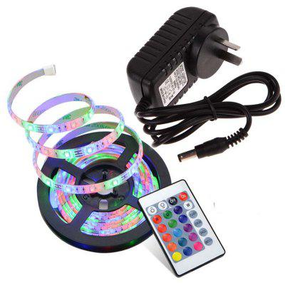 SUPli 5M Waterproof Strip 3528 RGB with 24KEY Controller And 12V 3A Power Supply