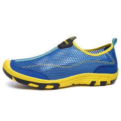ZEACAVA Men Honeycomb Mesh Quick Drying Upstream Shoes Casual Beach ShoesFlats &amp; Loafers<br>ZEACAVA Men Honeycomb Mesh Quick Drying Upstream Shoes Casual Beach Shoes<br><br>Available Size: 39-45<br>Closure Type: Slip-On<br>Embellishment: Hollow Out<br>Gender: For Men<br>Occasion: Casual<br>Outsole Material: Rubber<br>Package Contents: 1xShoes(Pair)<br>Pattern Type: Solid<br>Season: Summer<br>Toe Shape: Round Toe<br>Toe Style: Closed Toe<br>Upper Material: Cloth<br>Weight: 1.2000kg