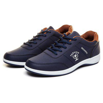 Spring 2018 New Casual Breathable Low Tide ShoesMen's Sneakers<br>Spring 2018 New Casual Breathable Low Tide Shoes<br><br>Available Size: 39,40,41,42,43,44<br>Closure Type: Lace-Up<br>Embellishment: Letter<br>Gender: For Men<br>Outsole Material: Rubber<br>Package Contents: 1 x Shoes ( pair )<br>Pattern Type: Letter<br>Season: Spring/Fall<br>Toe Shape: Round Toe<br>Toe Style: Closed Toe<br>Upper Material: PU<br>Weight: 1.1151kg