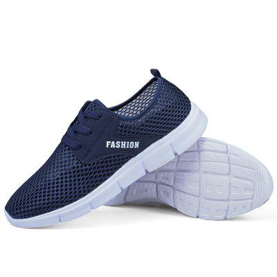 Lightweight Breathable Mesh Beach Shoes Comfort FlatsSneakersFlats &amp; Loafers<br>Lightweight Breathable Mesh Beach Shoes Comfort FlatsSneakers<br><br>Available Size: 38-46<br>Closure Type: Lace-Up<br>Feature: Breathable<br>Gender: For Men<br>Outsole Material: Rubber<br>Package Contents: 1?Shoes(pair)<br>Package Size(L x W x H): 30.00 x 20.00 x 10.00 cm / 11.81 x 7.87 x 3.94 inches<br>Package weight: 0.4500 kg<br>Pattern Type: Others<br>Product weight: 0.3000 kg<br>Season: Spring/Fall<br>Shoe Width: Medium(B/M)<br>Upper Material: Cloth