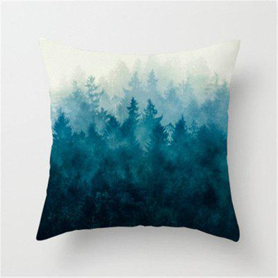 New Style Plush Ink Landscape with Pillowcase