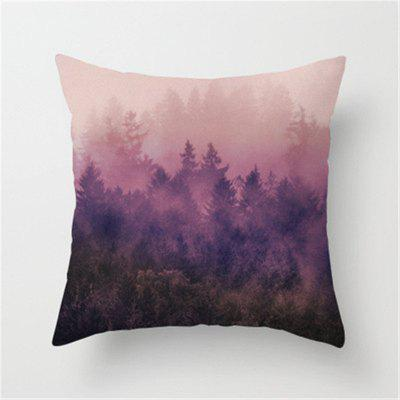 Comfortable Ink Painting Landscape Pillow Covers