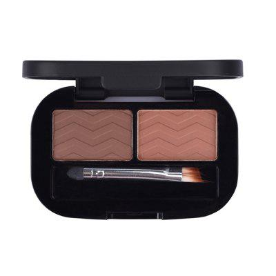 COOLBETTY C58004 Black Pearl Solid and Double Color Eyebrow Powder