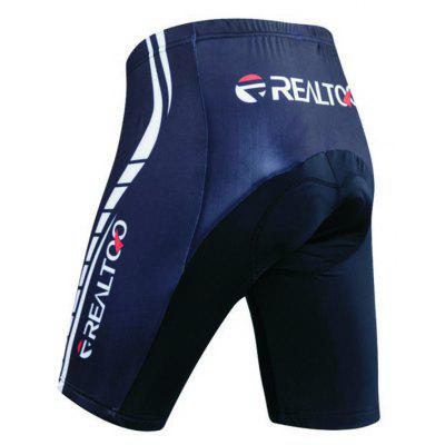 Realtoo Men's Cycling Pants Padded Bicycle Riding Shorts