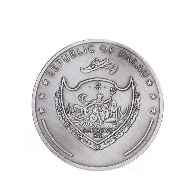 Retro Silver Werewolf Souvenir CoinCrafts<br>Retro Silver Werewolf Souvenir Coin<br><br>Material: Metal<br>Package Contents: 1 x Coin<br>Package size (L x W x H): 5.00 x 5.00 x 1.00 cm / 1.97 x 1.97 x 0.39 inches<br>Package weight: 0.0400 kg<br>Product size (L x W x H): 4.00 x 4.00 x 0.30 cm / 1.57 x 1.57 x 0.12 inches<br>Product weight: 0.0320 kg