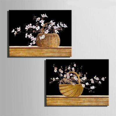 Special Design Frameless Painting Basket of Flowers  Print 2PCSPrints<br>Special Design Frameless Painting Basket of Flowers  Print 2PCS<br><br>Craft: Oil Painting<br>Form: Two Panels<br>Material: Canvas<br>Package Contents: 2 x Print<br>Package size (L x W x H): 52.00 x 73.00 x 3.50 cm / 20.47 x 28.74 x 1.38 inches<br>Package weight: 1.8000 kg<br>Painting: Without Inner Frame<br>Product size (L x W x H): 50.00 x 70.00 x 1.50 cm / 19.69 x 27.56 x 0.59 inches<br>Product weight: 1.7000 kg<br>Shape: Horizontal Panoramic<br>Style: Vintage, Fashion, Active, Formal, Casual, Novelty<br>Subjects: Fashion<br>Suitable Space: Indoor,Outdoor,Cafes,Kids Room,Kids Room,Study Room / Office