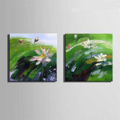 Special Design Frameless Paintings Lotus Blossom Print 2PCSPrints<br>Special Design Frameless Paintings Lotus Blossom Print 2PCS<br><br>Craft: Oil Painting<br>Form: Two Panels<br>Material: Canvas<br>Package Contents: 2 x Print<br>Package size (L x W x H): 42.00 x 43.00 x 3.50 cm / 16.54 x 16.93 x 1.38 inches<br>Package weight: 1.2000 kg<br>Painting: Without Inner Frame<br>Product size (L x W x H): 40.00 x 40.00 x 1.50 cm / 15.75 x 15.75 x 0.59 inches<br>Product weight: 1.1000 kg<br>Shape: Square<br>Style: Vintage, Fashion, Active, Formal, Casual, Novelty<br>Subjects: Fashion<br>Suitable Space: Indoor,Outdoor,Cafes,Kids Room,Kids Room,Study Room / Office