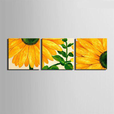 Special Design Frameless Paintings Sunflower Print 3PCSPrints<br>Special Design Frameless Paintings Sunflower Print 3PCS<br><br>Craft: Oil Painting<br>Form: Three Panels<br>Material: Canvas<br>Package Contents: 2 x Print<br>Package size (L x W x H): 52.00 x 53.00 x 5.00 cm / 20.47 x 20.87 x 1.97 inches<br>Package weight: 1.9000 kg<br>Painting: Without Inner Frame<br>Product size (L x W x H): 50.00 x 50.00 x 1.50 cm / 19.69 x 19.69 x 0.59 inches<br>Product weight: 1.8000 kg<br>Shape: Square<br>Style: Vintage, Fashion, Active, Formal, Casual, Novelty<br>Subjects: Fashion<br>Suitable Space: Indoor,Outdoor,Cafes,Kids Room,Kids Room,Study Room / Office