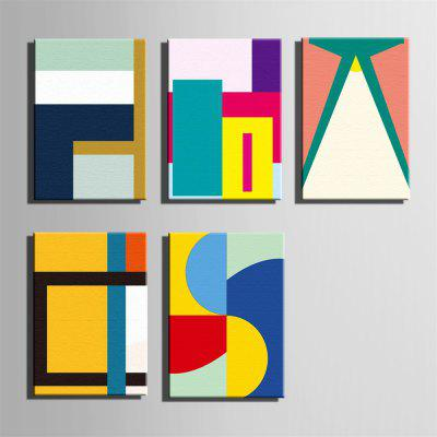 Special Design Frameless Paintings Abstract Print 5PCSPrints<br>Special Design Frameless Paintings Abstract Print 5PCS<br><br>Craft: Oil Painting<br>Form: Five Panels<br>Material: Canvas<br>Package Contents: 5 x Print<br>Package size (L x W x H): 42.00 x 31.00 x 8.00 cm / 16.54 x 12.2 x 3.15 inches<br>Package weight: 3.0000 kg<br>Painting: Without Inner Frame<br>Product size (L x W x H): 40.00 x 28.00 x 1.50 cm / 15.75 x 11.02 x 0.59 inches<br>Product weight: 2.9000 kg<br>Shape: Vertical<br>Style: Vintage, Fashion, Active, Formal, Casual, Novelty<br>Subjects: Fashion<br>Suitable Space: Indoor,Outdoor,Cafes,Kids Room,Kids Room,Study Room / Office