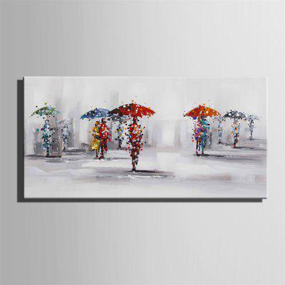 Special Design Frameless Paintings Rainy Day PrintPrints<br>Special Design Frameless Paintings Rainy Day Print<br><br>Craft: Oil Painting<br>Form: One Panel<br>Material: Canvas<br>Package Contents: 1 x Print<br>Package size (L x W x H): 52.00 x 73.00 x 2.00 cm / 20.47 x 28.74 x 0.79 inches<br>Package weight: 1.3000 kg<br>Painting: Without Inner Frame<br>Product size (L x W x H): 50.00 x 70.00 x 1.50 cm / 19.69 x 27.56 x 0.59 inches<br>Product weight: 1.2000 kg<br>Shape: Horizontal<br>Style: Vintage, Fashion, Active, Formal, Casual, Novelty<br>Subjects: Fashion<br>Suitable Space: Indoor,Outdoor,Cafes,Kids Room,Kids Room,Study Room / Office