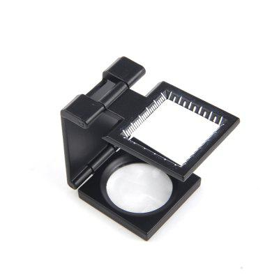 10X 28MM Folding Scale Magnifying Glass