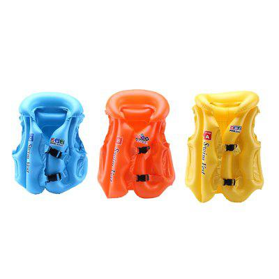 JL-17 PVC Children Inflatable Vest for SwimmingOther Water Sports Accessories<br>JL-17 PVC Children Inflatable Vest for Swimming<br><br>Material: PVC, ABS Plastic<br>Package Content: 1 x Swim Vest<br>Package size: 30.00 x 20.00 x 2.00 cm / 11.81 x 7.87 x 0.79 inches<br>Package weight: 0.2000 kg<br>Product size: 56.00 x 41.00 x 30.00 cm / 22.05 x 16.14 x 11.81 inches<br>Product weight: 0.1800 kg
