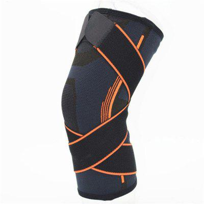 Sports Outdoor Twining Breathable and Anti Skid Nylon Knee Pad