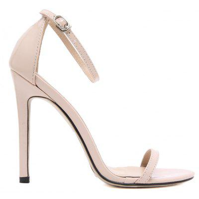 Women Fashion Single Band Ankle Strap Open Toe SandalsWomens Pumps<br>Women Fashion Single Band Ankle Strap Open Toe Sandals<br><br>Available Size: 35-41<br>Heel Height Range: Super High(Above4)<br>Heel Type: Stiletto Heel<br>Insole Material: PU<br>Occasion: Party<br>Package Contents: 1 x Pump Shoes (pair)<br>Pumps Type: Ankle Strap<br>Season: Summer, Spring/Fall<br>Toe Shape: Round Toe<br>Toe Style: Open Toe<br>Upper Material: PU<br>Weight: 1.2000kg