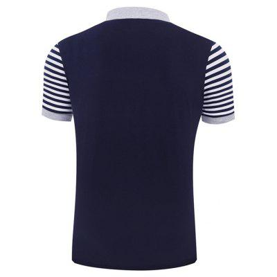 Summer New Business Stripes for Mens Short Sleeve Polo ShirtsMens Short Sleeve Tees<br>Summer New Business Stripes for Mens Short Sleeve Polo Shirts<br><br>Collar: Turn-down Collar<br>Color Style: Contrast Color<br>Fabric Type: Broadcloth<br>Material: Cotton, Polyester<br>Package Contents: 1 x Polo Shirt<br>Pattern Type: Others<br>Sleeve Length: Short<br>Style: Fashion<br>Type: Regular<br>Weight: 0.3000kg
