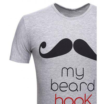 Fashion Collar Beard Printing Mens Short Sleeve T-ShirtsMens Short Sleeve Tees<br>Fashion Collar Beard Printing Mens Short Sleeve T-Shirts<br><br>Collar: Round Neck<br>Material: Cotton, Spandex<br>Package Contents: 1 X T-Shirt<br>Pattern Type: Print<br>Sleeve Length: Short Sleeves<br>Style: Casual<br>Weight: 0.2000kg