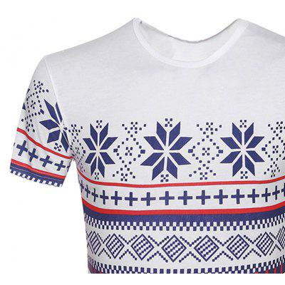 Summer Fashion Print Casual Men Short Sleeve T-ShirtsMens Short Sleeve Tees<br>Summer Fashion Print Casual Men Short Sleeve T-Shirts<br><br>Collar: Round Neck<br>Material: Cotton, Spandex<br>Package Contents: 1 X T-Shirt<br>Pattern Type: Print<br>Sleeve Length: Short Sleeves<br>Style: Casual<br>Weight: 0.2000kg