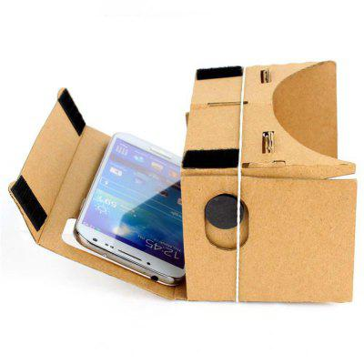 DIY Cardboard VR Virtual Reality 3D Glass