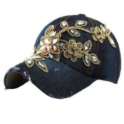 Gold Wire Studded with Baseball Caps