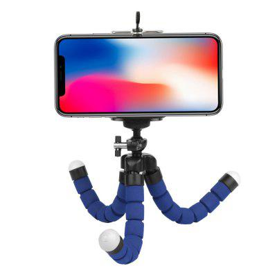 Flexible Octopus Tripod for Gopro / Xiaomi / Dslr / iPhone X /S9 with Phone ClipTripods<br>Flexible Octopus Tripod for Gopro / Xiaomi / Dslr / iPhone X /S9 with Phone Clip<br><br>Accessory type: Tripod, Mounting Clips, Camera Accessories Kit<br>Apply to Brand: Elephone,Xiaomi,Sony,Gopro,SJCAM,Soocoo,Eken,YI<br>Compatible with: EKEN H8, EKEN H8R, SJCAM M20, Soocoo G1, EKEN H9, SJCAM M10, EKEN H3R, EKEN H9R, Xiaomi Yi II, YI II, GoPro Hero 5, GoPro Hero 5 Black, GoPro Hero 5 Session, H9R, GoPro Hero 4 Plus, Soocoo S60, Soocoo C10, SJ7000, Mobile phone, H9, YI, Gopro Hero 4, Gopro Hero 3 Plus, Gopro Hero 3, Gopro Hero 2, Gopro Hero 1, GoPro Hero Series, SJ4000, SJ5000, SJ6000, Action Camera, Mobius Action Sports Camera, Xiaomi Yi<br>For Activity: General Sports, Film and Music, Universal<br>Material: ABS, Aluminum<br>Package Contents: 1 x Flexible Tripod , 1 x Phone Holder<br>Package size (L x W x H): 27.00 x 9.00 x 5.00 cm / 10.63 x 3.54 x 1.97 inches<br>Package weight: 0.1000 kg<br>Product size (L x W x H): 15.00 x 3.50 x 3.50 cm / 5.91 x 1.38 x 1.38 inches<br>Product weight: 0.0800 kg