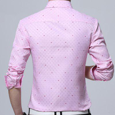 New Men Print Business Long Sleeve ShirtMens Shirts<br>New Men Print Business Long Sleeve Shirt<br><br>Collar: Turn-down Collar<br>Material: Polyester<br>Package Contents: 1 x Shirt<br>Shirts Type: Casual Shirts<br>Sleeve Length: Full<br>Weight: 0.2000kg