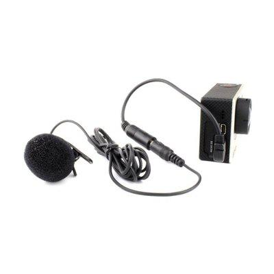 3.5mm Mini Microphone Adapter Accessories for Gopro Hero 3+/4Action Cameras &amp; Sport DV Accessories<br>3.5mm Mini Microphone Adapter Accessories for Gopro Hero 3+/4<br><br>Accessory type: Adapter Cable<br>Package Contents: 1 x Microphone<br>Package size (L x W x H): 14.00 x 10.00 x 5.00 cm / 5.51 x 3.94 x 1.97 inches<br>Package weight: 0.0300 kg<br>Product weight: 0.0300 kg
