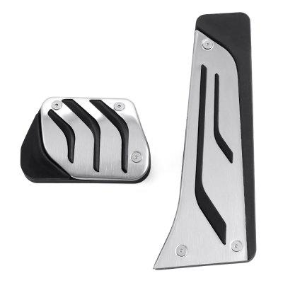 Stainless Steel  Break Gas AT Pedal for BMW 1 3 5 6 7 Series X1