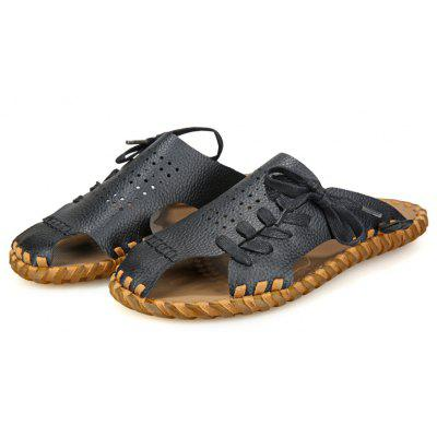 Men Summer Lazy Leisure Hole Leather Baotou SandalsMens Sandals<br>Men Summer Lazy Leisure Hole Leather Baotou Sandals<br><br>Available Size: 39,40,41,42,43,44<br>Embellishment: None<br>Gender: For Men<br>Outsole Material: Vibram<br>Package Contents: 1 x shoes(pair)<br>Pattern Type: Star<br>Season: Summer<br>Slipper Type: Outdoor<br>Style: Fashion<br>Upper Material: Full Grain Leather<br>Weight: 1.1020kg