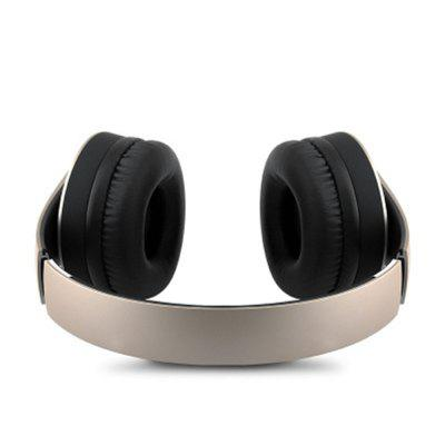 Wireless Headphone with Mic Foldable Over Ear BluetoothBluetooth Headphones<br>Wireless Headphone with Mic Foldable Over Ear Bluetooth<br><br>Application: Audiophile, Working, DJ, Gaming, Running, Sport<br>Battery Capacity(mAh): 200mAh<br>Battery lifetime (times): 12times<br>Battery Type: Li-ion Battery<br>Bluetooth: Yes<br>Cable Length (m): 1.5 m<br>Compatible with: PS4, iPod, iPhone, Portable Media Player, Mobile phone, PC, TV, MP3, Computer, Xbox one<br>Connecting interface: 3.5mm<br>Connectivity: Wired and Wireless<br>Features: Subwoofer, Extra Bass<br>Function: MP3 player, Noise Cancelling, Sweatproof<br>Material: Plastic<br>Package Contents: 1 x Headset<br>Package size (L x W x H): 19.00 x 13.00 x 3.00 cm / 7.48 x 5.12 x 1.18 inches<br>Package weight: 0.3000 kg<br>Plug Type: 3.5mm<br>Product size (L x W x H): 18.00 x 12.00 x 2.00 cm / 7.09 x 4.72 x 0.79 inches<br>Product weight: 0.2000 kg<br>Sound channel: Two-channel (stereo)<br>Standby time: 10hour<br>Talk time: 5hour<br>Type: On-ear<br>Working Time: 5hour