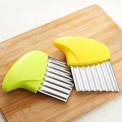 ZH16 New Multi-Function Vegetable Chopping Potato SlicerCoffee &amp; Tea Tools<br>ZH16 New Multi-Function Vegetable Chopping Potato Slicer<br><br>Material: Stainless Steel, PP<br>Package Contents: 1 x Slicer<br>Package size (L x W x H): 13.00 x 10.00 x 3.00 cm / 5.12 x 3.94 x 1.18 inches<br>Package weight: 0.1000 kg<br>Product size (L x W x H): 11.00 x 8.00 x 1.00 cm / 4.33 x 3.15 x 0.39 inches<br>Product weight: 0.0500 kg<br>Type: Other Kitchen Accessories